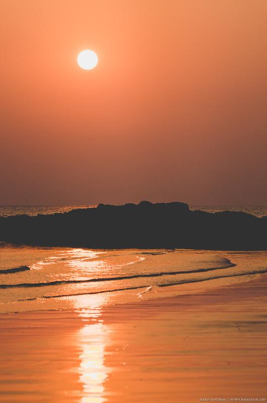 Закат на Марсе / Индия