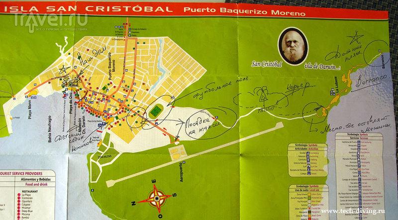 Возвращение в Puerto Baquerizo Moreno. Опять на Галапагосах / Фото из Эквадора