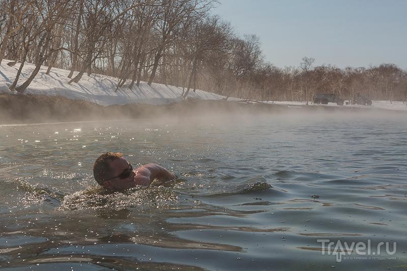 Горячие реки Камчатки / Фото из России