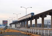 Монорельсовый поезд в Токио