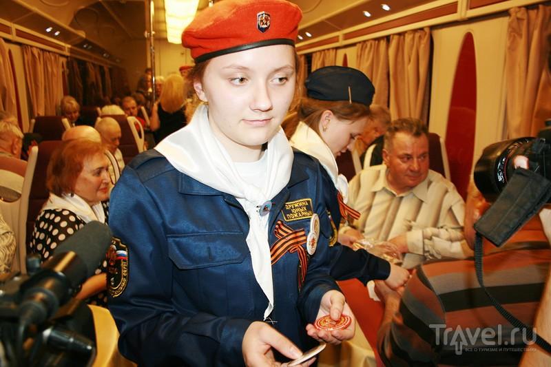 Поезд Памяти изнутри / Белоруссия