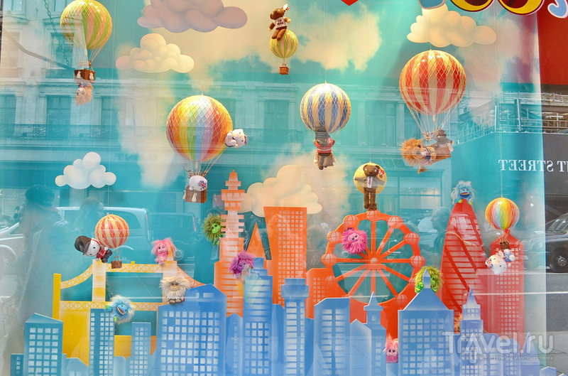 Лондон: витрины и магазины / Великобритания