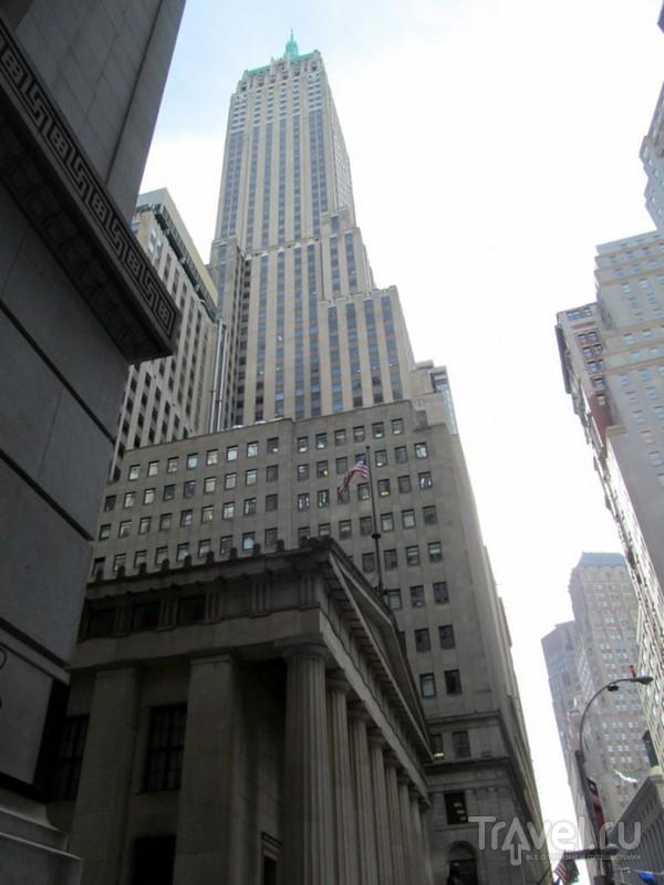 Нью-Йорк. Нижний Манхэттен и Финансовый район / США