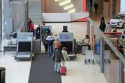 Досмотр в аэропорту Кольцово в Екатеринбурге
