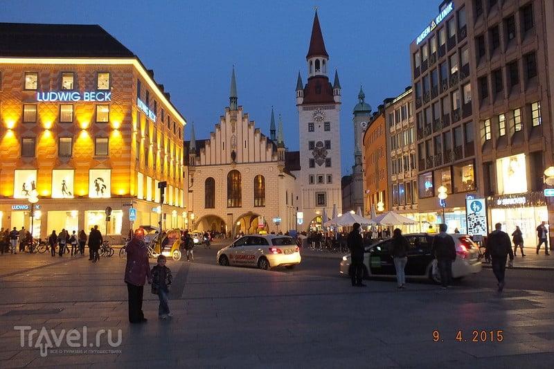 Мюнхен. Дорога в Леголенд / Германия