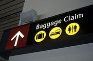 Указатель зала получения багажа