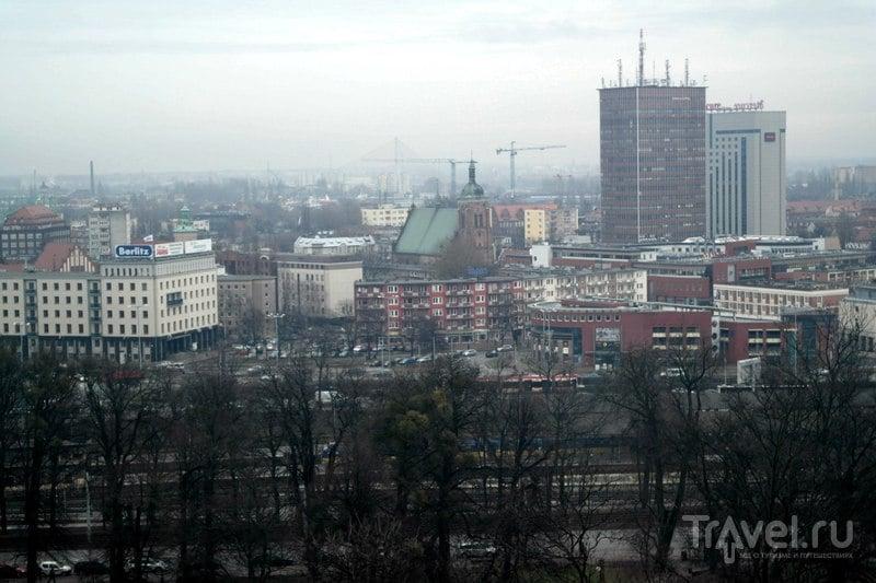 Гданьск - от судоверфи до Гданьской крепости и смотровой на ней. / Польша