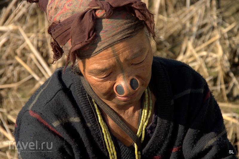 Племя Апатани / Индия