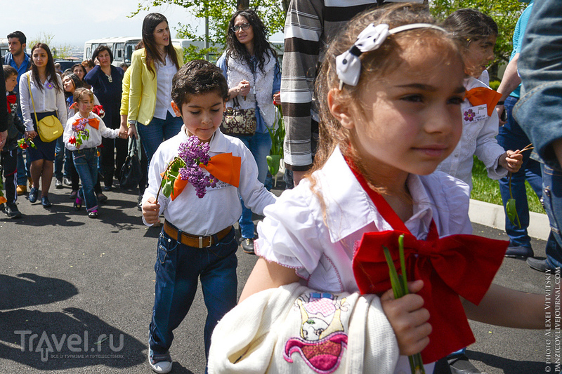 Цицернакаберд в Ереване / Армения