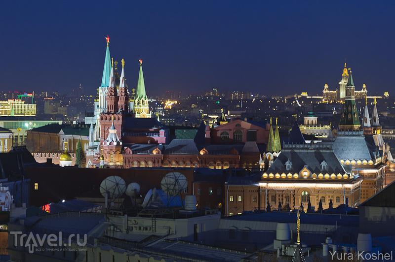 Вечерняя прогулка по Москве / Фото из России