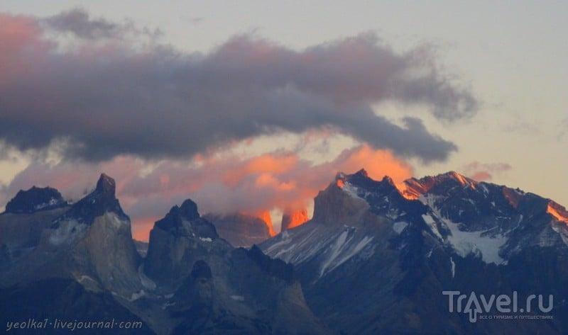 Чили - сбыча мечт! Патагония. Рассвет на Торресах через Куэрнос / Чили