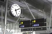 Все аэропорты работают по местному времени