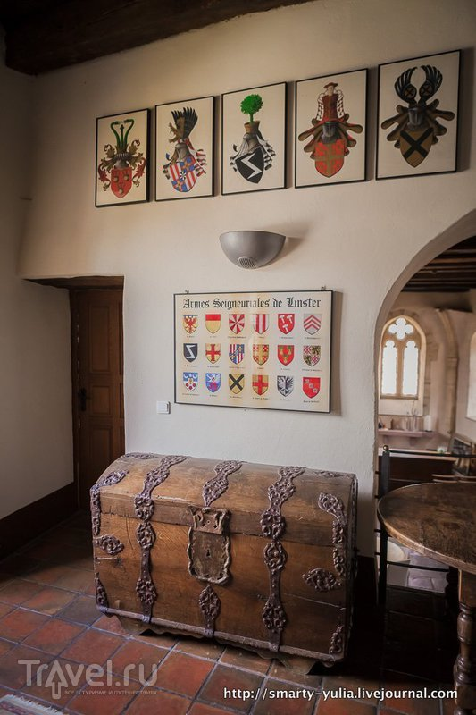 Люксембург: замок Бурглинстер (Bourglinster) / Люксембург