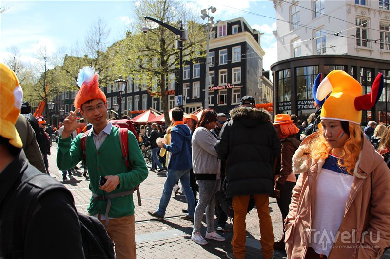 Оранжевый Амстердам / Фото из Нидерландов