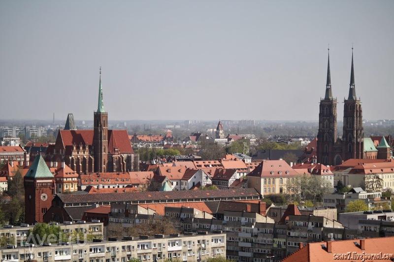 Взгляд на Вроцлав / Польша