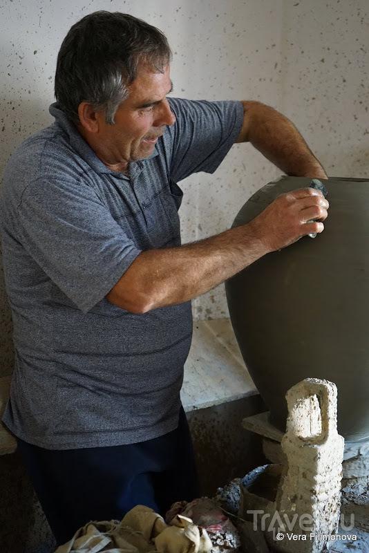 Экскурсия на частную керамическую фабрику в Албании и мастер-класс у гончарного круга / Албания