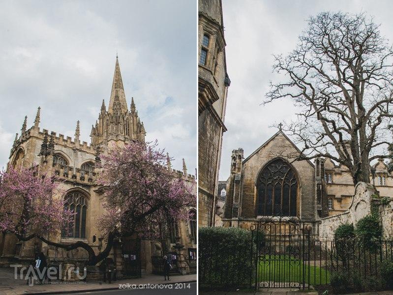 Оксфорд. Магический колледж и весна в городе / Великобритания