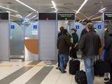 Очередь на паспортном контроле в аэропорту Шереметьево в Москве