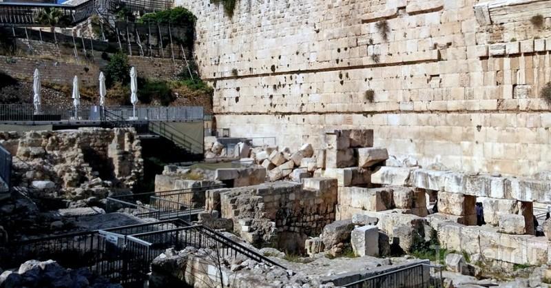 Тихое место у Иерусалимского храма. Совет путешественникам / Израиль