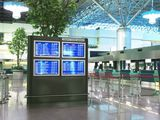 Информационное табло в аэропорту