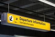 Указатель информации о вылетах