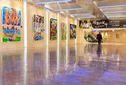 Галерея в аэропорту Taoyuan в Тайване