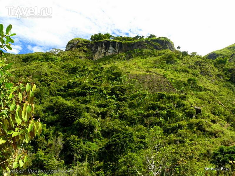 Колумбия - Con mucho gusto! Тьеррадентро - дыры на вершине горы... / Колумбия