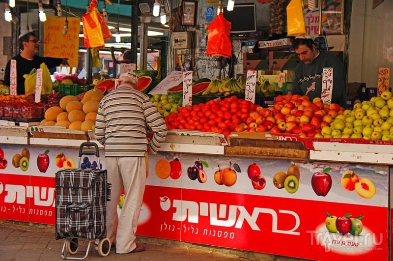 Прогулка по рынку в Нетании / Израиль