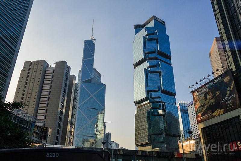 Гонконг. Эскалаторы и трамваи / Гонконг - Сянган (КНР)