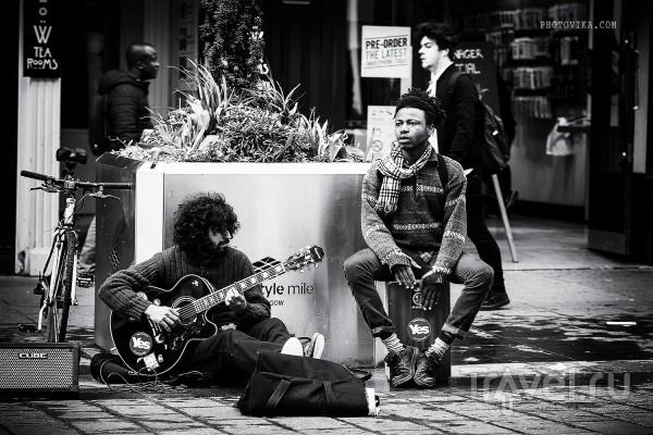 Черно-бело-золотой Глазго / Великобритания