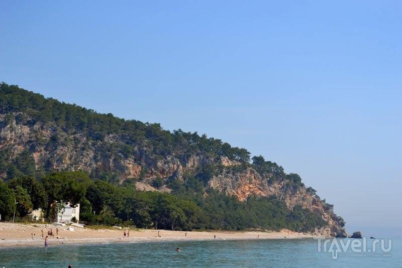 Турция в конце апреля. Море и сосны / Турция