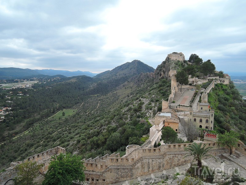 Хатива, крепость (Castillo de Xàtiva) / Фото из Испании