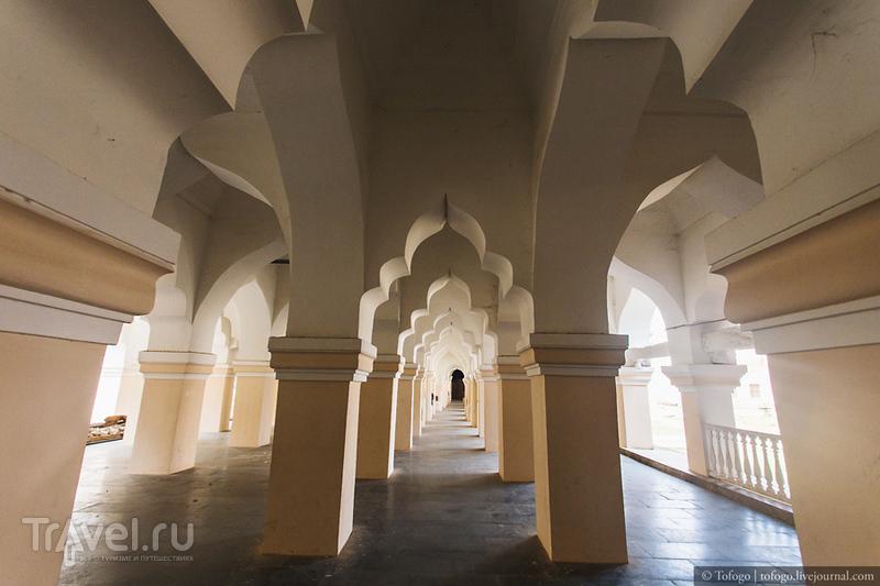 Индия. Дворец Маратхов в Танджавуре (Thanjavur Maratha Palace) / Индия