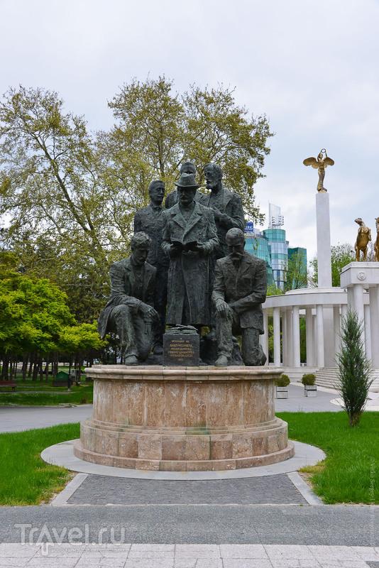 Монументальная пропаганда / Фото из Македонии