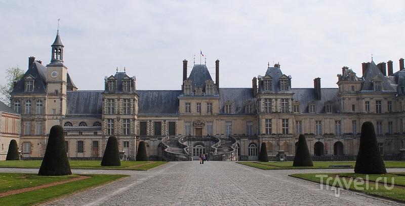 Дворец Фонтенбло (Château de Fontainebleau) / Фото из Франции