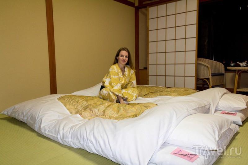 Рёкан - традиционная японская гостиница / Фото из Японии
