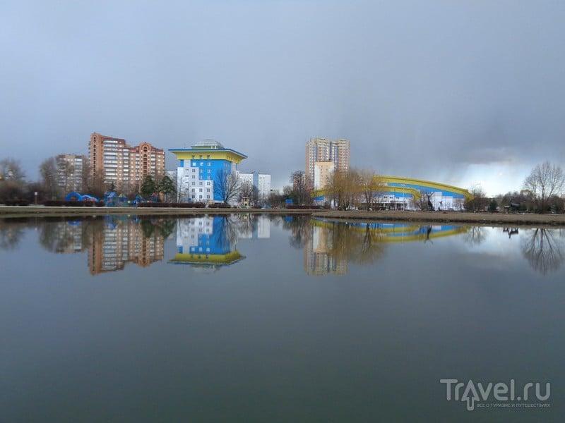 Центр города Одинцово Московской области / Россия