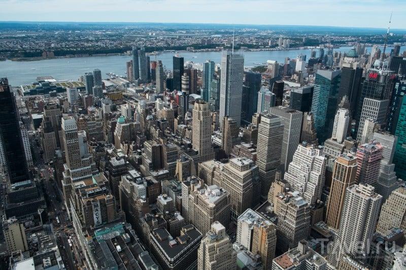 Небоскрёбы Нью-Йорка: Эмпайр Стейт Билдинг / США