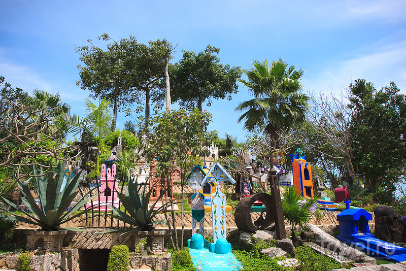 Уникальный экопарк Шкарет (Xcaret) в Мексике / Фото из Мексики
