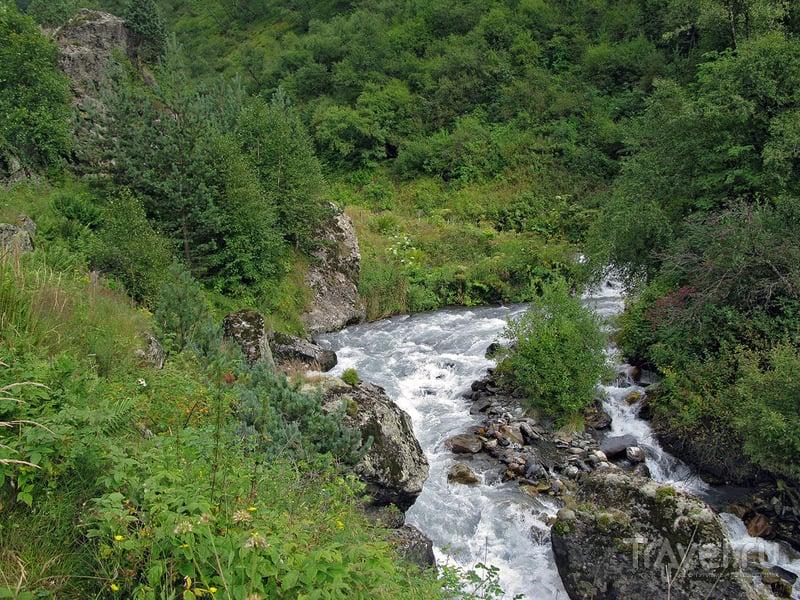 По горам Грузии из Казбеги в Шатили. Лучшие фото / Фото из Грузии