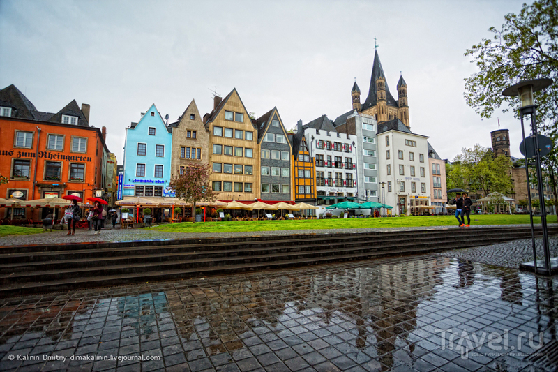 Из Амстердама в Кёльн / Германия