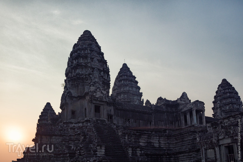 Ангкор-Ват, или Трудно быть богом / Фото из Камбоджи