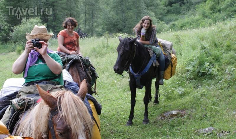 По Горному Алтаю на конях. Урочище Каракол - Муехта / Россия