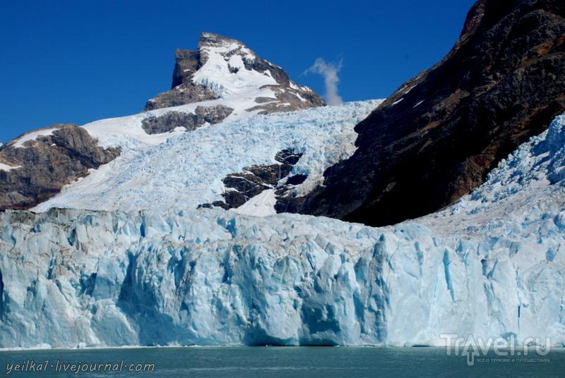 Чили - сбыча мечт! Патагония. Аргентина. Голубые ледовые реки / Фото из Аргентины