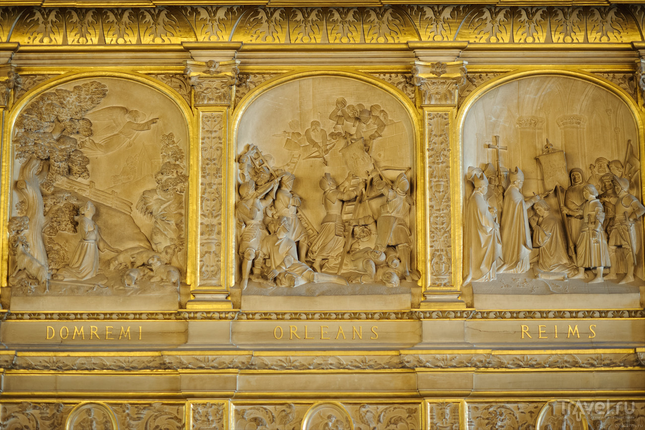 Жанна д'Арк - памятники в Париже, Орлеане и Руане / Франция