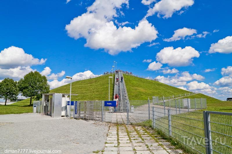 Парк для посетителей в аэропорту Мюнхена / Германия
