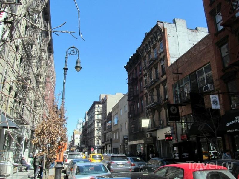 Нью-Йорк. Нижний Ист-Сайд и Ист Виллидж / США