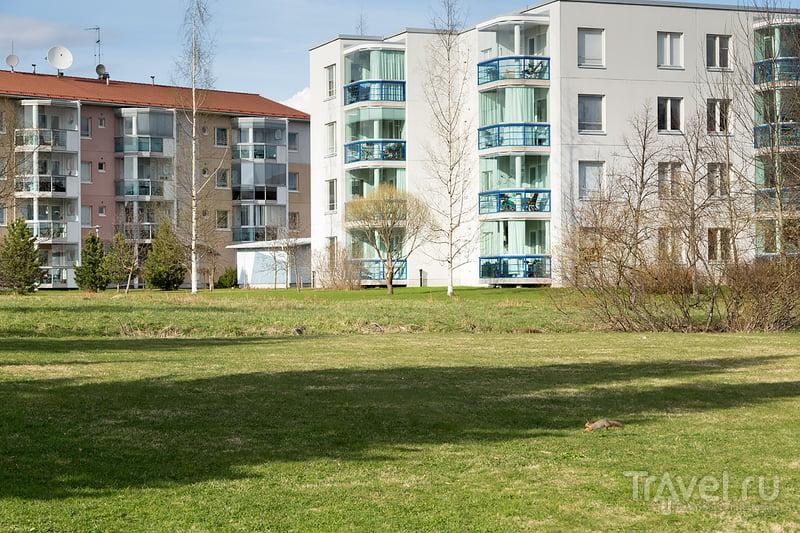 Тампере. Жилые кварталы города / Фото из Финляндии