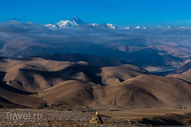 Тибет. Дорога к Эвересту / Фото из Китая