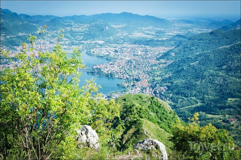 Как мы лазали по горам у озера Комо и чудом спаслись / Фото из Италии